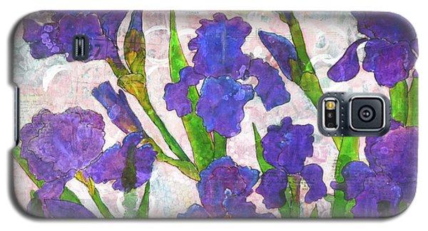 Irresistible Irises Galaxy S5 Case