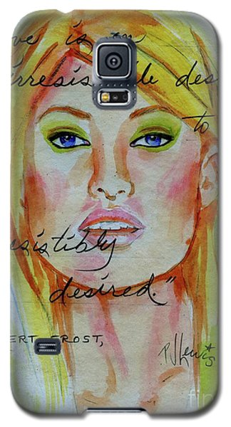 Galaxy S5 Case featuring the painting Irresistible by P J Lewis