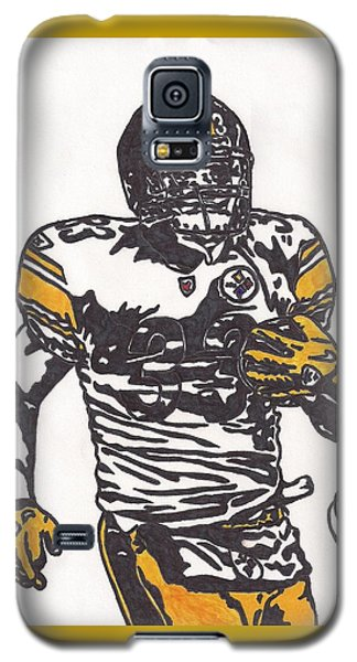 Galaxy S5 Case featuring the drawing Isaac Redman by Jeremiah Colley