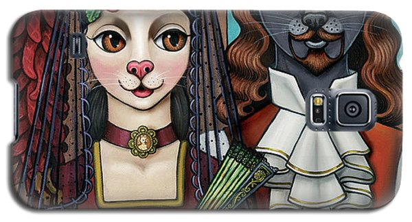 Cats Of Spain Galaxy S5 Case