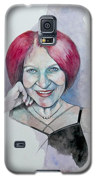 Galaxy S5 Case featuring the painting Isabella by Ray Agius