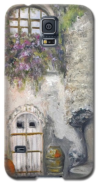 Ischia Courtyard Galaxy S5 Case by Sandra Nardone