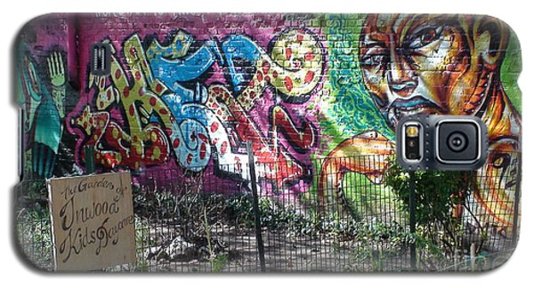 Galaxy S5 Case featuring the photograph Isham Park Graffiti  by Cole Thompson