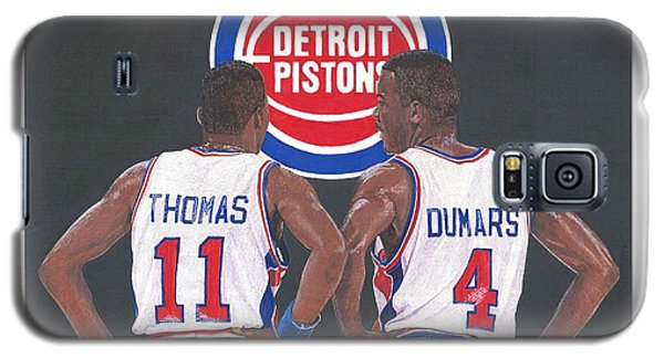 Isiah Thomas And Joe Dumars Galaxy S5 Case