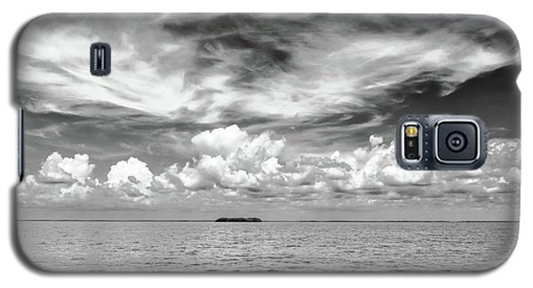 Island, Clouds, Sky, Water Galaxy S5 Case