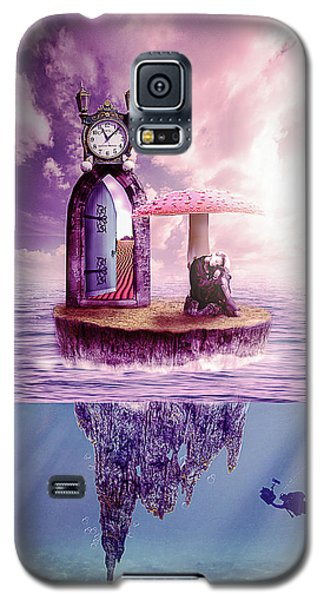 Galaxy S5 Case featuring the digital art Island Dreaming by Nathan Wright