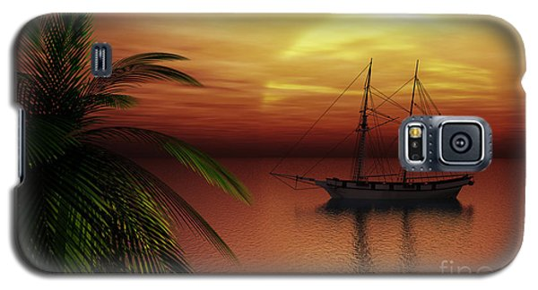 Island Explorer  Galaxy S5 Case
