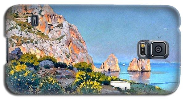 Island Of Capri - Gulf Of Naples Galaxy S5 Case