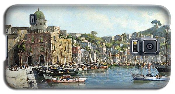 Island Of Procida - Italy- Harbor With Boats Galaxy S5 Case