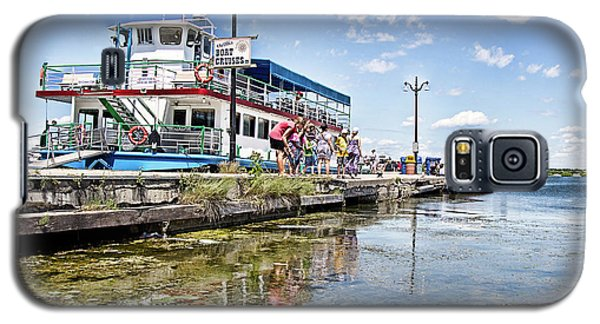 Island Princess At Harbour Dock Galaxy S5 Case