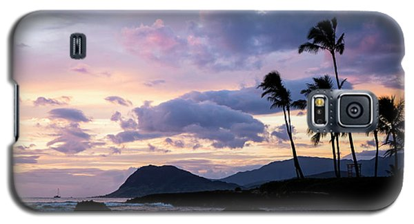 Island Silhouettes  Galaxy S5 Case by Heather Applegate