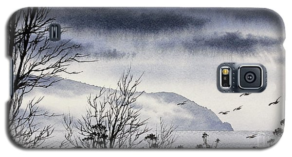 Galaxy S5 Case featuring the painting Island Solitude by James Williamson