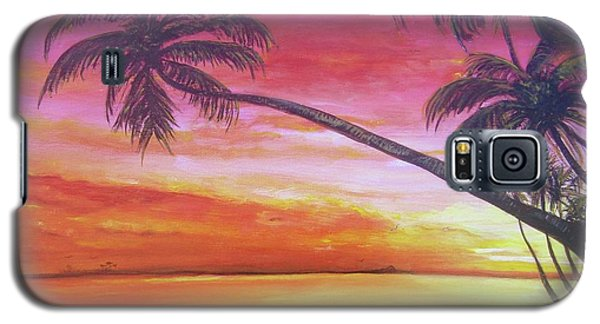 Island Sunrise Galaxy S5 Case