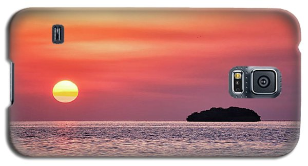 Island Sunset Galaxy S5 Case