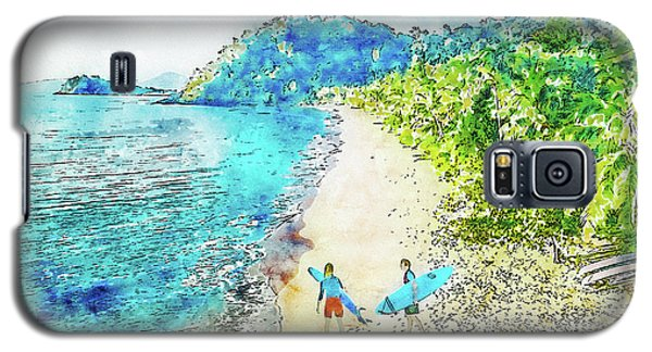 Island Surfers Galaxy S5 Case