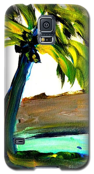 Island Time Signed Print Galaxy S5 Case