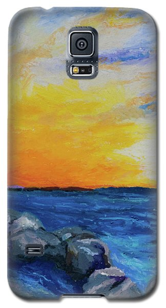 Galaxy S5 Case featuring the painting Island Time by Stephen Anderson