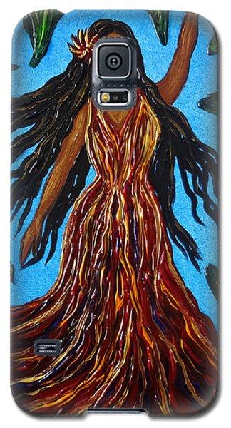 Island Woman Galaxy S5 Case