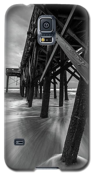 Isle Of Palms Pier Water In Motion Galaxy S5 Case