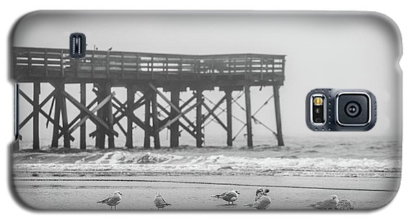 Isle Of Palms Pier And Fog Galaxy S5 Case