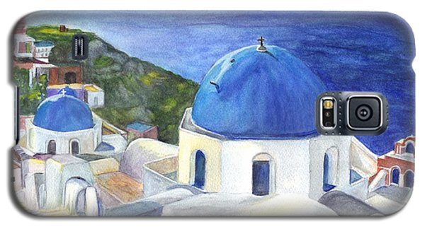 Isle Of Santorini Thiara  In Greece Galaxy S5 Case