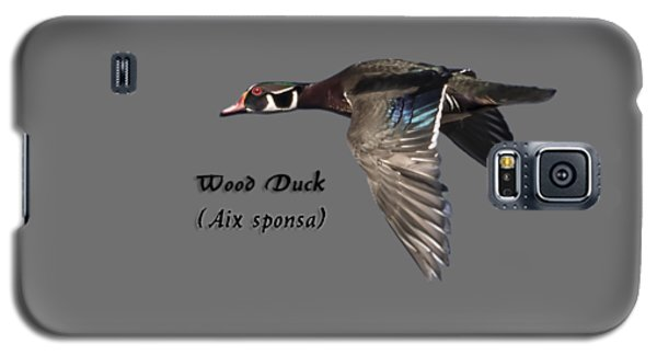 Isolated Wood Duck 2017-1 Galaxy S5 Case
