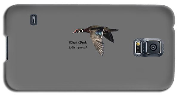 Isolated Wood Duck 2017-1 Galaxy S5 Case by Thomas Young