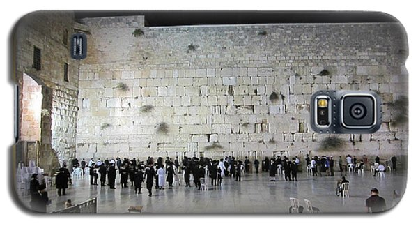 Israel Western Wall - Our Heritage Now And Forever Galaxy S5 Case