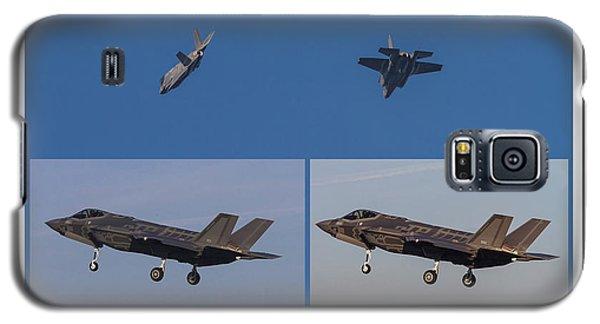 Israeli Air Force First Two F-35i Adir Galaxy S5 Case by Amos Dor