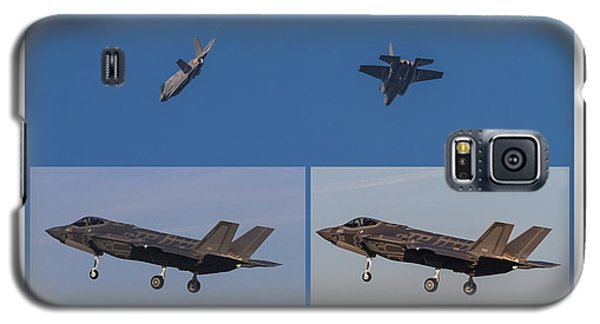 Israeli Air Force First Two F-35i Adir Galaxy S5 Case