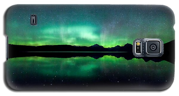 Galaxy S5 Case featuring the photograph Iss Aurora by Aaron Aldrich
