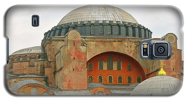 Galaxy S5 Case featuring the photograph Istanbul Dome by Munir Alawi