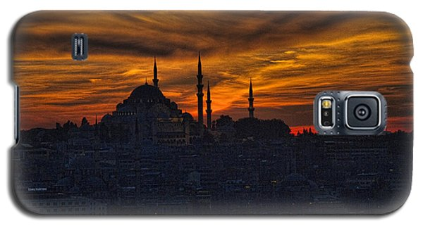 Istanbul Sunset - A Call To Prayer Galaxy S5 Case by David Smith