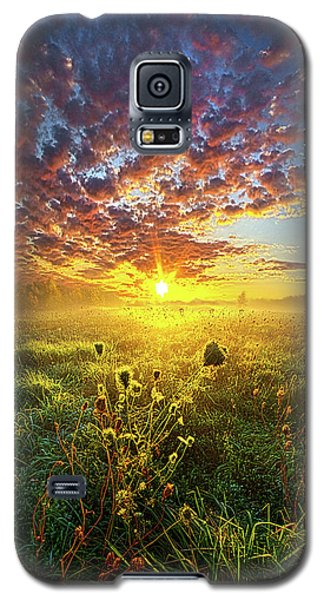 It Begins With A Word Galaxy S5 Case