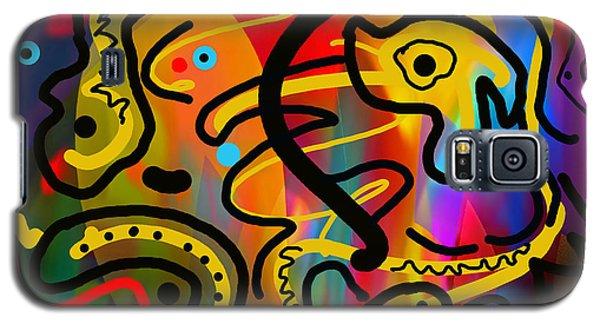 Galaxy S5 Case featuring the digital art It Doesn't Surprise Me by Lynda Lehmann