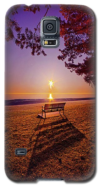 Galaxy S5 Case featuring the photograph It Is Words With You I Seek by Phil Koch