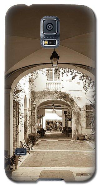 Italian Courtyard  Galaxy S5 Case