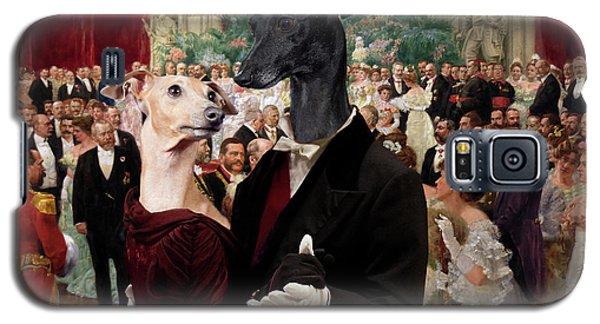 Italian Greyhound Art Canvas Print - Beautiful City Dance Hall Vienna Wilhelm Gause Galaxy S5 Case