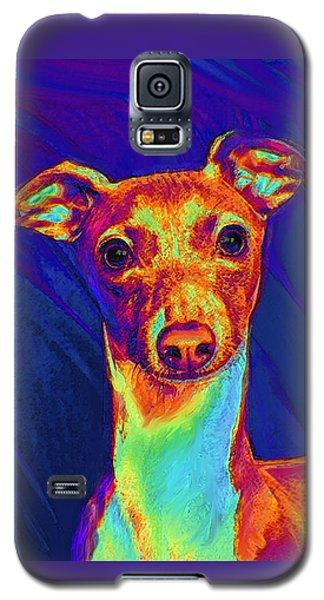 Italian Greyhound  Galaxy S5 Case by Jane Schnetlage