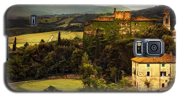 Italian Castle And Landscape Galaxy S5 Case