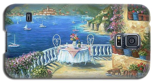 Italian Lunch On The Terrace Galaxy S5 Case