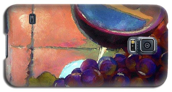 Italian Tile And Fine Wine Galaxy S5 Case