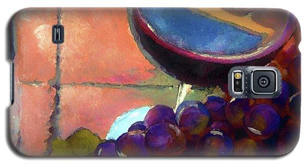 Italian Tile And Fine Wine Galaxy S5 Case by Lisa Kaiser
