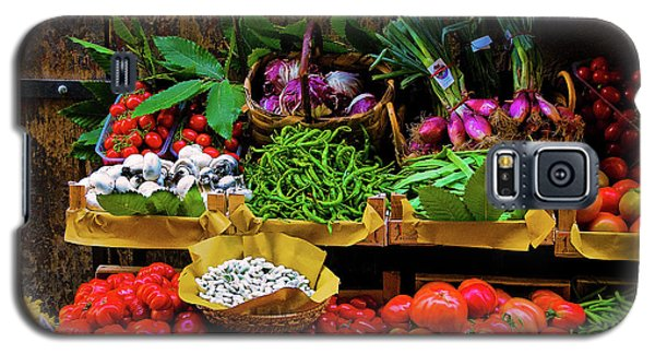 Galaxy S5 Case featuring the photograph Italian Vegetables  by Harry Spitz