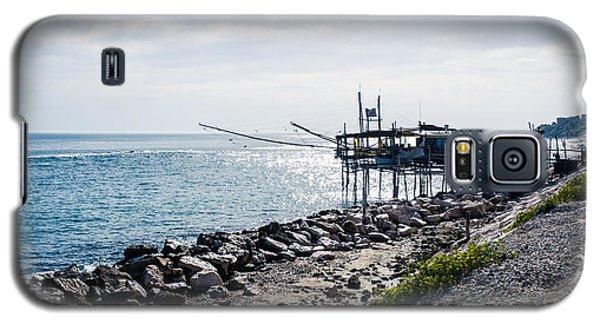 Italy - The Trabocchi Coast 2  Galaxy S5 Case by Andrea Mazzocchetti