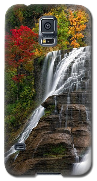 Ithaca Falls Galaxy S5 Case by Mark Papke