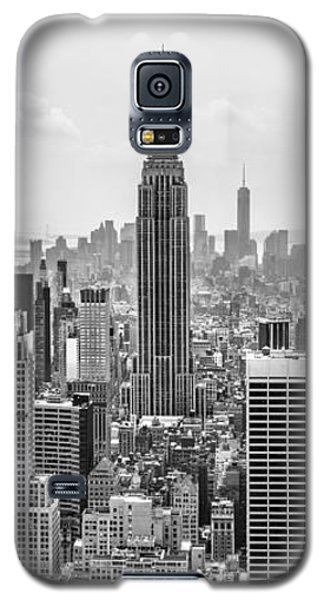 Empire State Building Galaxy S5 Case - It's A Jungle Out There by Az Jackson