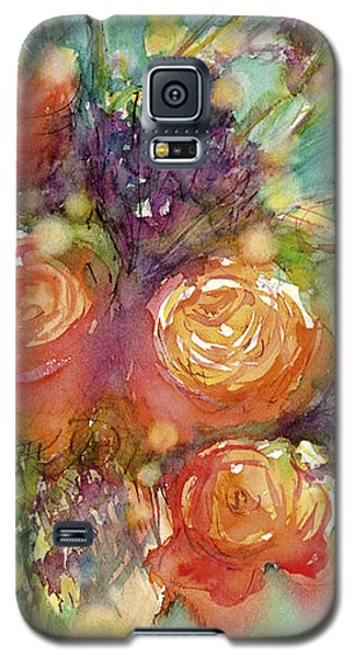 It's A Teal World Galaxy S5 Case by Judith Levins
