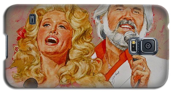 Its Country - 8  Dolly Parton Kenny Rogers Galaxy S5 Case