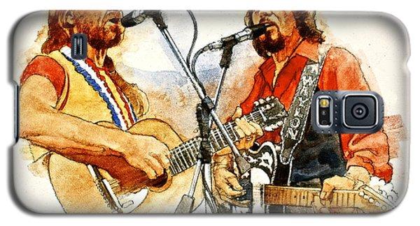 Its Country - 7  Waylon Jennings Willie Nelson Galaxy S5 Case